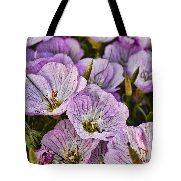 Holly Hocks - 1 Tote Bag