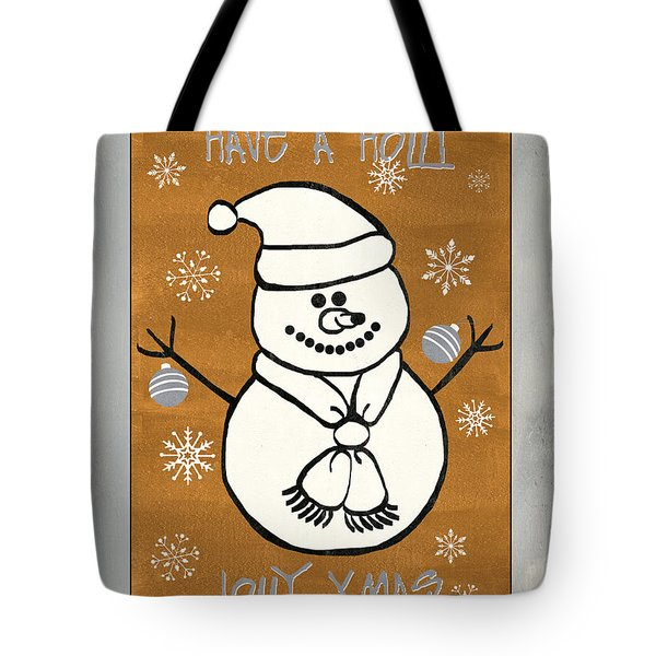 Holly Holly Xmas Tote Bag by Debbie DeWitt