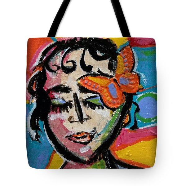 Holly - Vivid Vixen Tote Bag