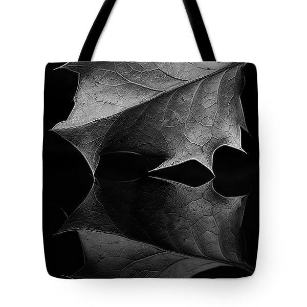 Holly Leaf Tote Bag