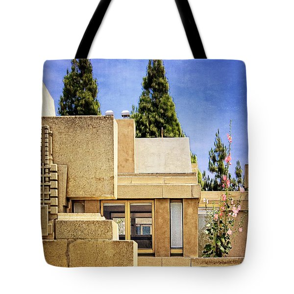 Hollyhock House Tote Bag