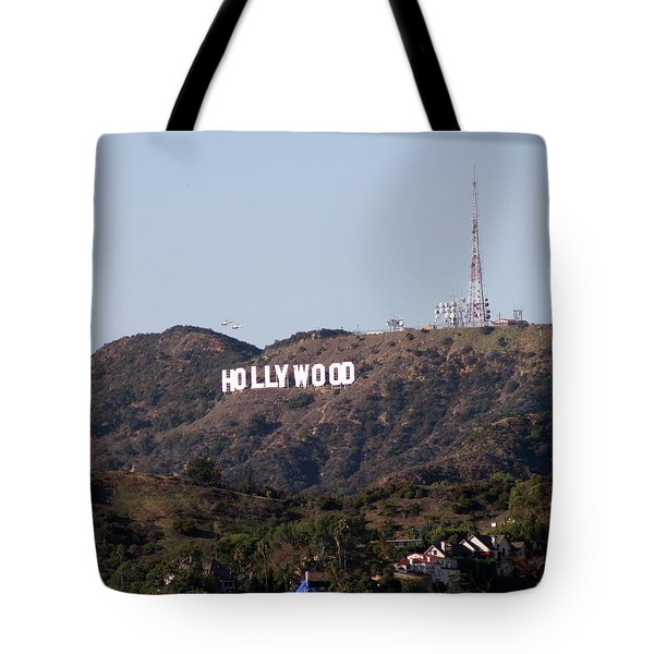 Hollywood And Helicopters Tote Bag