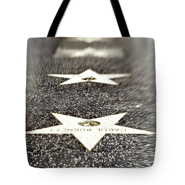 Hollywood Blvd California 19 Tote Bag