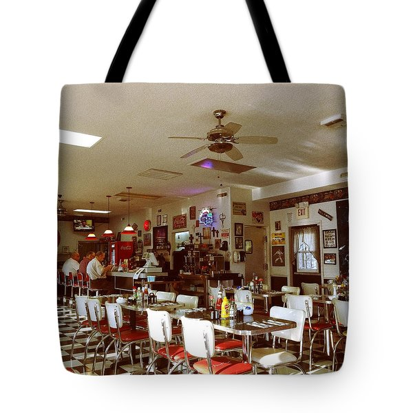 Hollywood Cafe Lodi California Tote Bag
