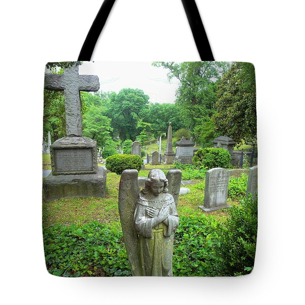 Hollywood Cemetery Tote Bag