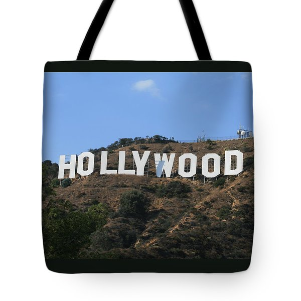 Hollywood Tote Bag by Marna Edwards Flavell