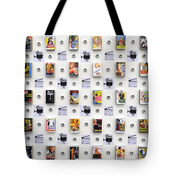 Hollywood On A Matchbox Tote Bag