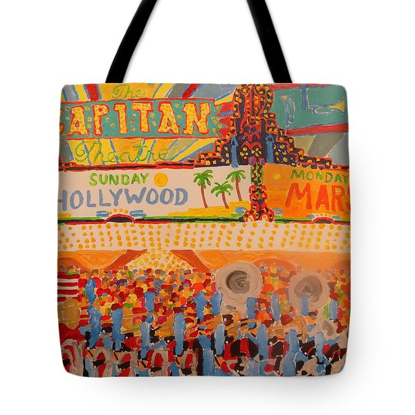 Hollywood Parade Tote Bag by Rodger Ellingson