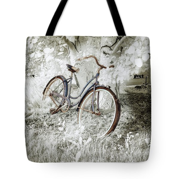 Tote Bag featuring the photograph Hollywood Schwinn II by Craig J Satterlee