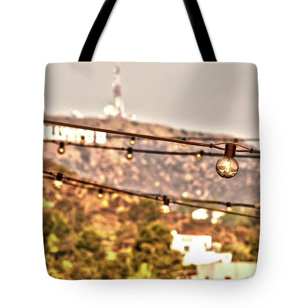 Tote Bag featuring the photograph Hollywood Sign On The Hill 6 by Micah May