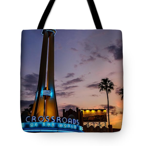 Hollywood Studios Sunset Tote Bag