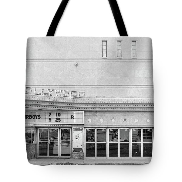 Hollywood Theater Marquee Tote Bag
