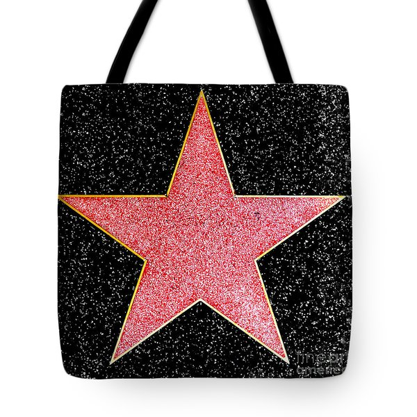 Hollywood Walk Of Fame Star Tote Bag