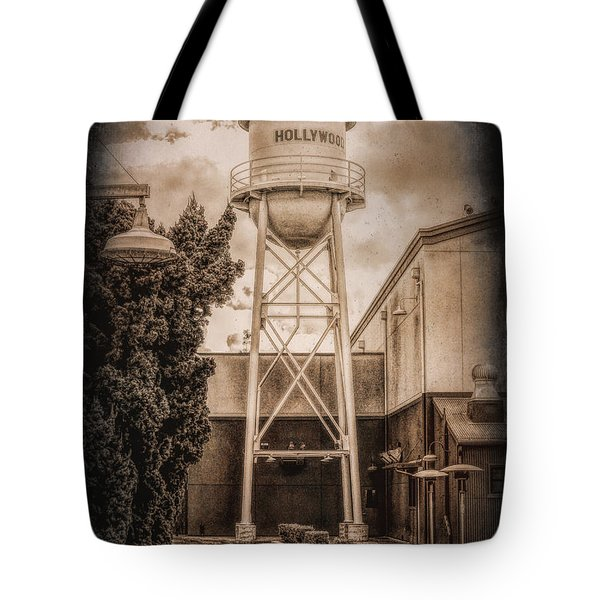 Hollywood Water Tower 2 Tote Bag