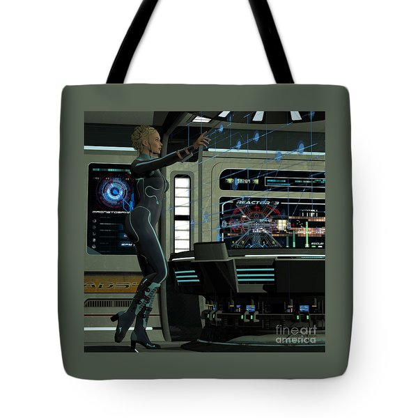 Hologram Operations Tote Bag
