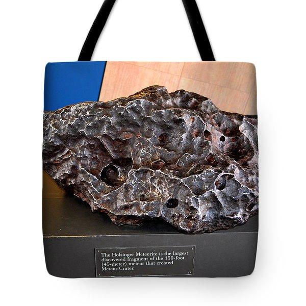 Holsinger Meteorite 001 Tote Bag by George Bostian