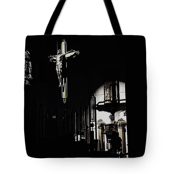 Holy Adoration Tote Bag