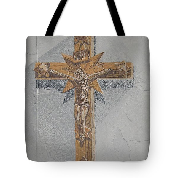 Holy Cross Tote Bag