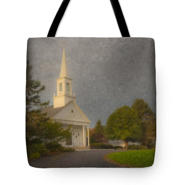 Holy Cross Parish Church Tote Bag