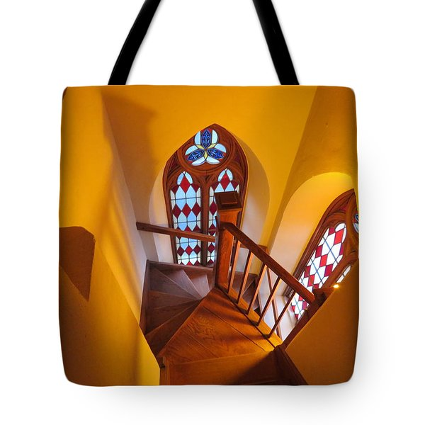 Holy Cross Staircase Tote Bag