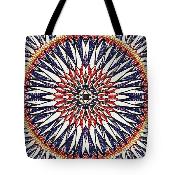 Tote Bag featuring the painting Holy Dog Star by Kym Nicolas