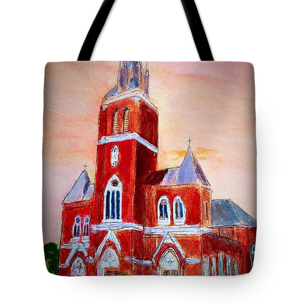 Holy Family Church Tote Bag
