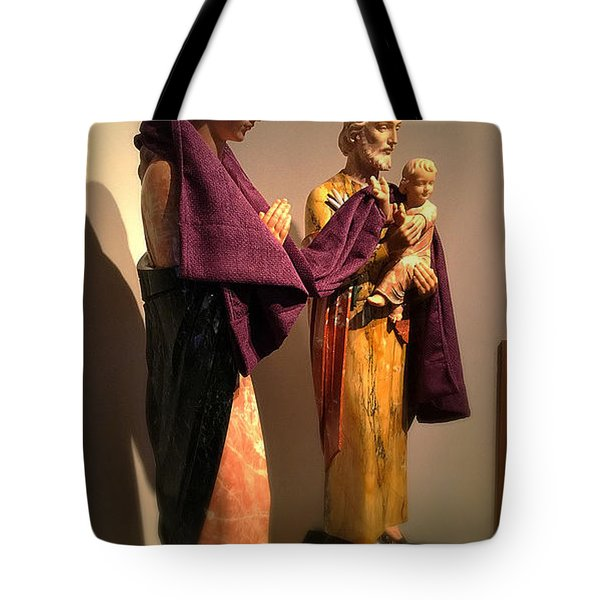 Holy Family - Lent Tote Bag