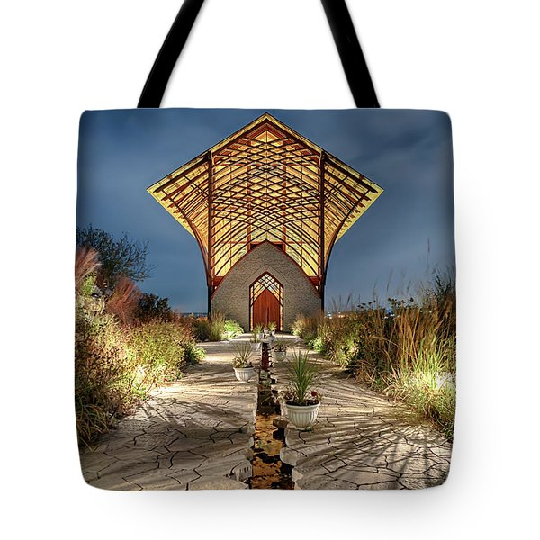 Holy Family Shrine Tote Bag