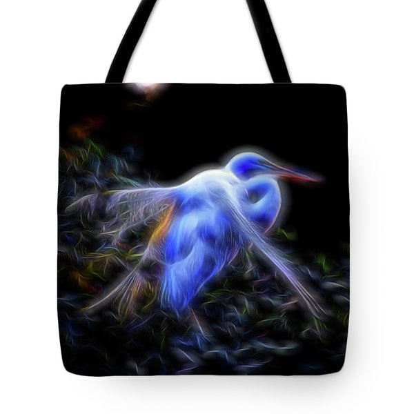 Holy Guardian Angel Tote Bag by William Horden