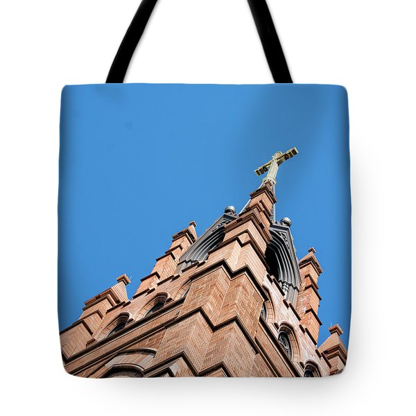 Huguenot Church Tote Bag