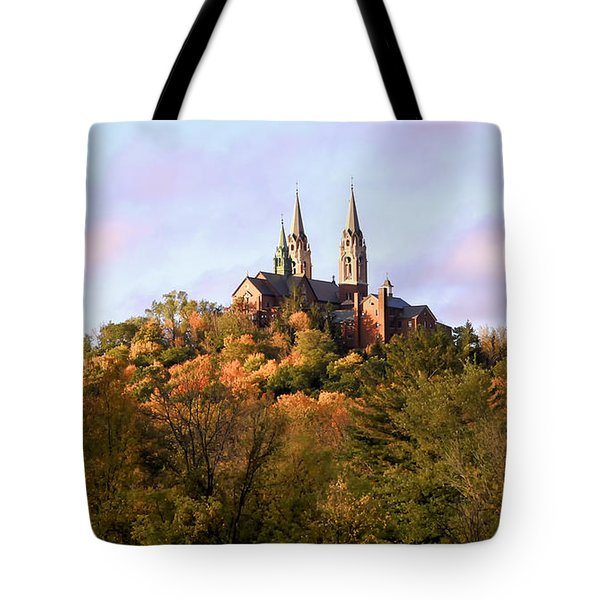 Holy Hill Basilica, National Shrine Of Mary Tote Bag