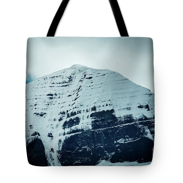 Holy Kailas North Slop Fragment Himalayas Tibet Yantra.lv Tote Bag