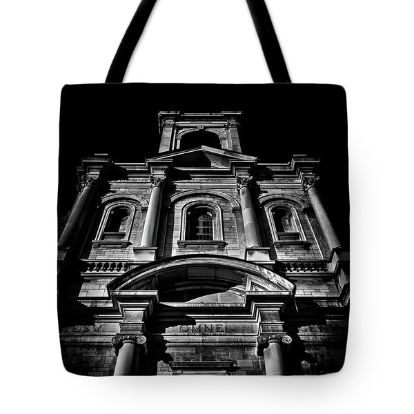 Tote Bag featuring the photograph Holy Name Parish No 71 Gough Ave Toronto Canada by Brian Carson