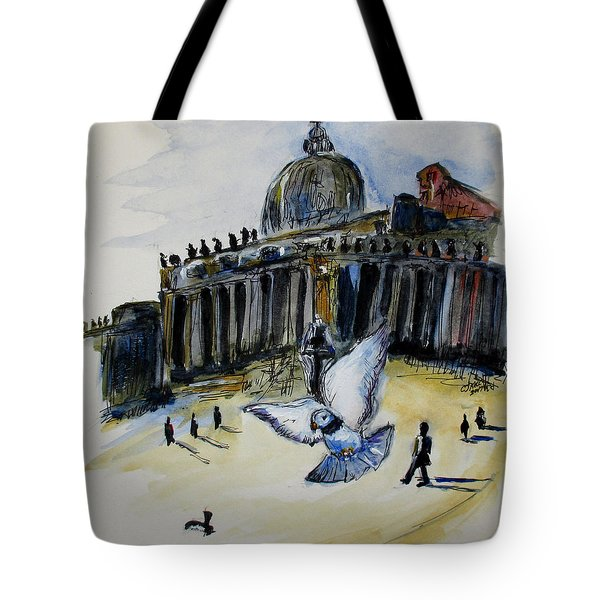 Holy Pigeons Tote Bag