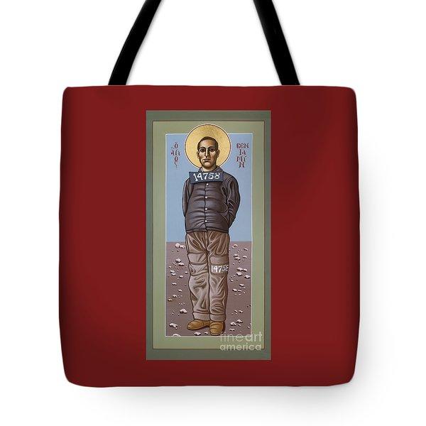 Holy Prophet Benjamin Salmon 083 Tote Bag