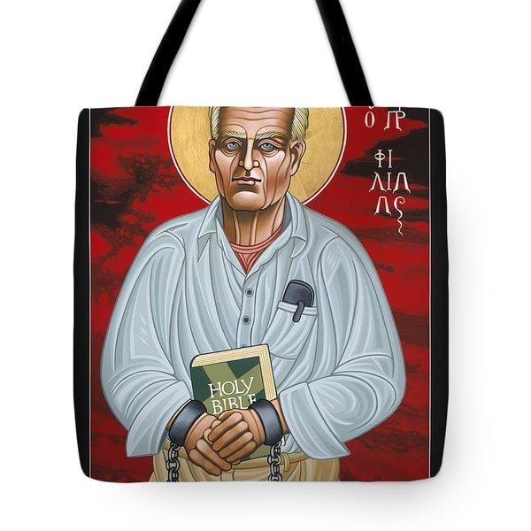 Holy Prophet Philip Berrigan 125 Tote Bag
