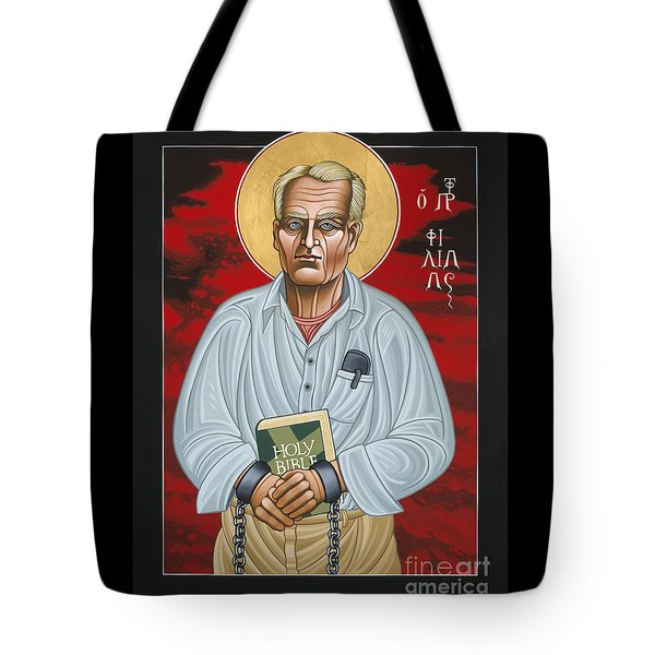Holy Prophet Philip Berrigan 125 Tote Bag