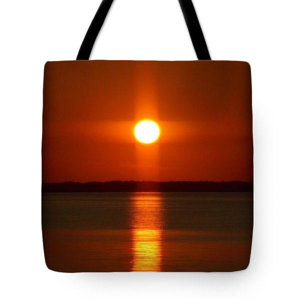 Holy Sunset - Portrait Tote Bag