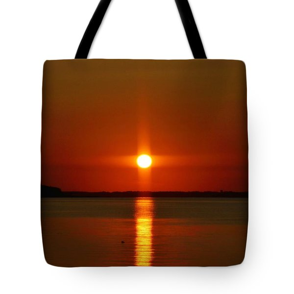 Holy Sunset Tote Bag