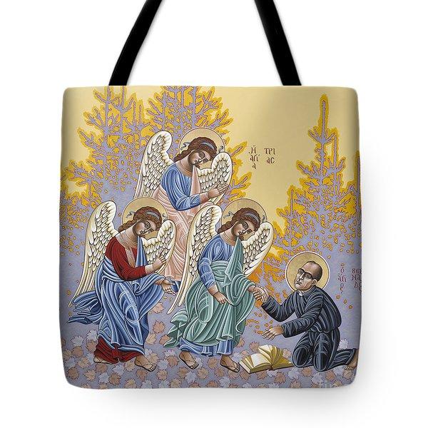 Holy Theologian Bernard Lonergan 122 Tote Bag