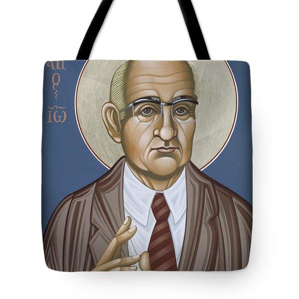 Holy Theologian Hans Urs Von Balthasar 110 Tote Bag
