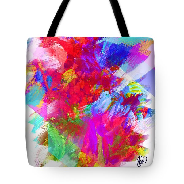 Holy Town Tote Bag by AC Williams