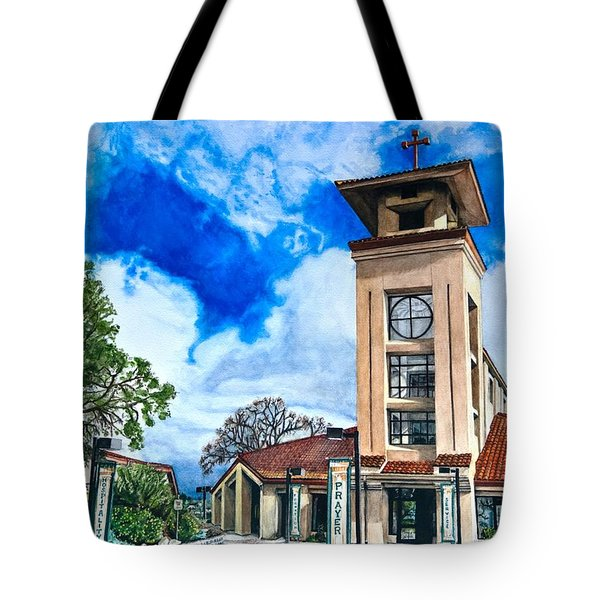 Holy Trinity Tote Bag by Lance Gebhardt
