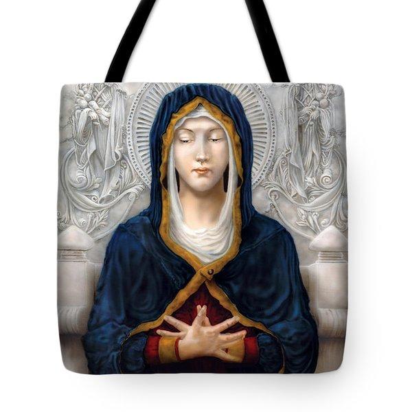 Holy Woman Tote Bag