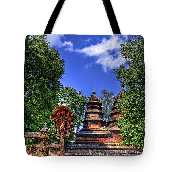 Holy Wood Tote Bag