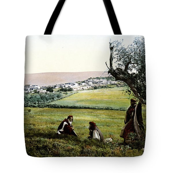 Holyland - Cana Of Galilee  Tote Bag by Munir Alawi