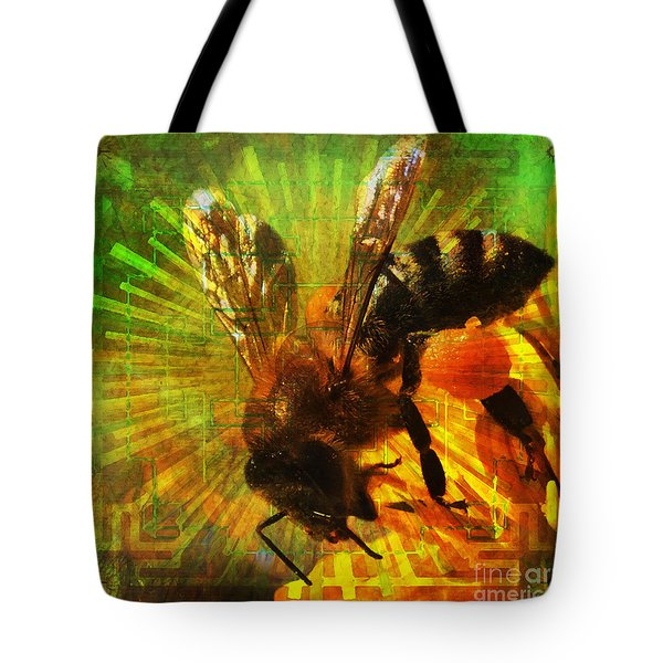 Homage To A Bee 2015 Tote Bag
