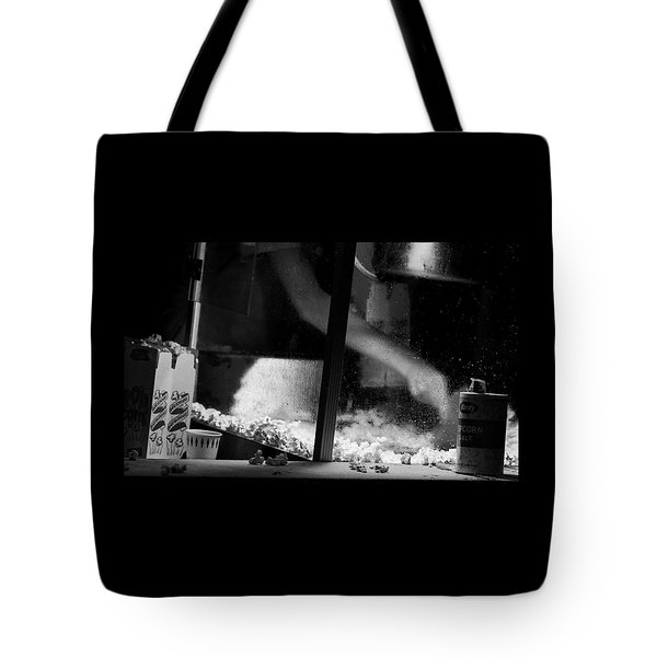 Homage To Movie Popcorn Tote Bag