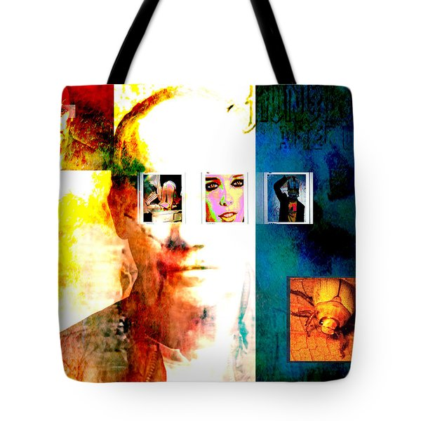Homage To Richard Prince Tote Bag by Ann Tracy
