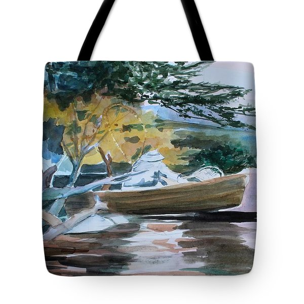 Homage To Winslow Homer Tote Bag by Mindy Newman